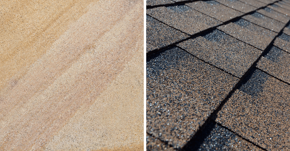 did you know spectravision can measure roof shingles and sandstone?