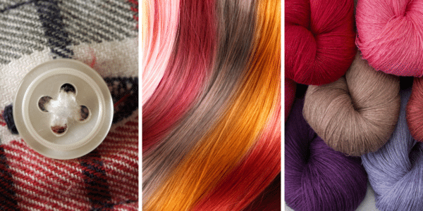did you know spectravision can measure hair, yarn, and buttons?