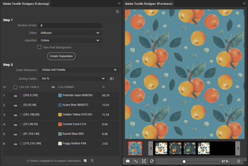 datacolor and adobe textile designer